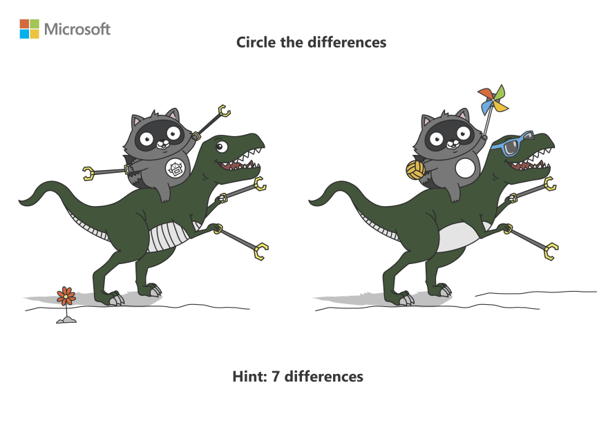 Circle the differences