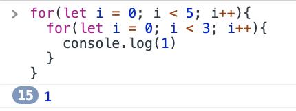 let 5x3 loop