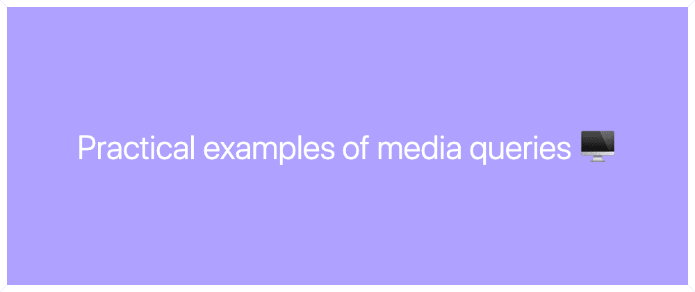Cover image for Deep dive into @media queries