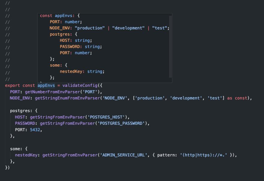 typed-env-parser API