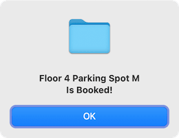 Parking Booked