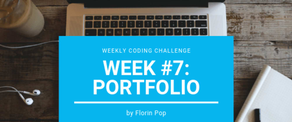 Cover image for Weekly Coding Challenge - Week #7 - Portfolio