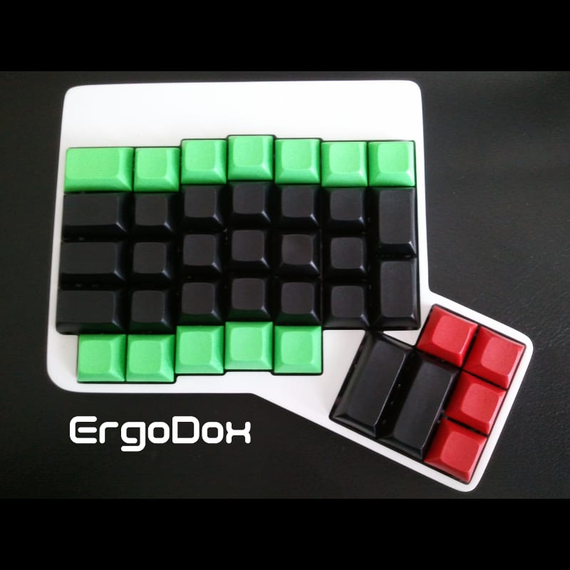 Image of my Ergodox