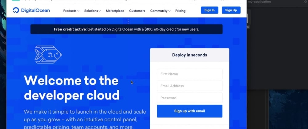 Cover image for How to host your static site for free with DigitalOcean App Platform