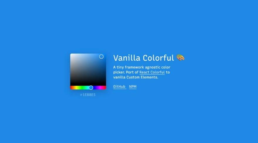 Vanilla Colorful