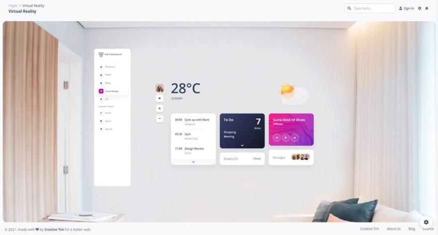 Free Dashboard - Soft UI Dashboard