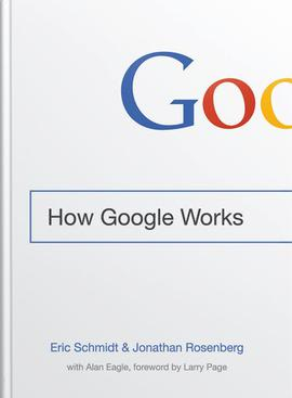 How Google Works, Cover