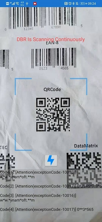 camera barcode scanner in Xamarin.Forms
