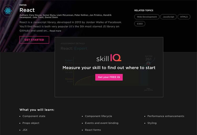 React Skill Path
