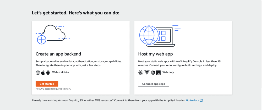 Cover image for Datamodel your React app with AWS Amplify Admin UI