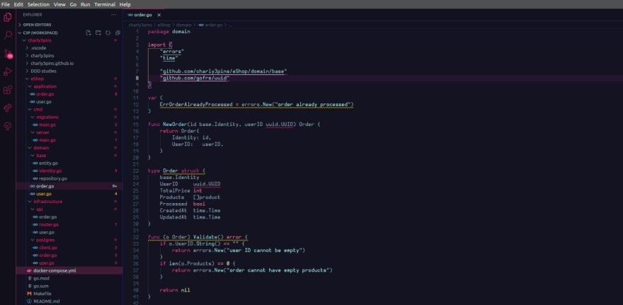 vscode charly3pins