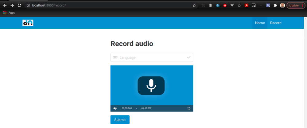 Cover image for Django and Ajax: Building a Django live recording application
