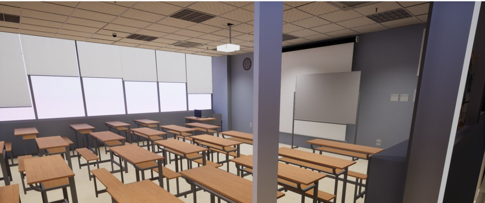 Cover image for Development of University of Science and Technology of Hanoi interactive virtual world using Unreal Engine