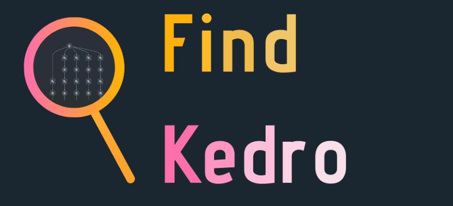 find-kedro