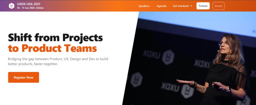 UXDX USA 2021 Developer Conference
