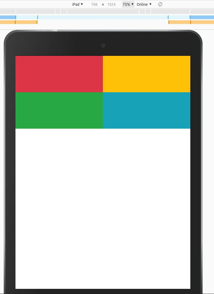 Bootstrap-Tablets-View