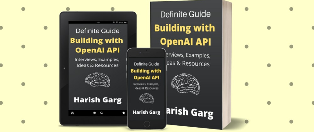 Cover image for How to get access to OpenAI GPT-3 API?