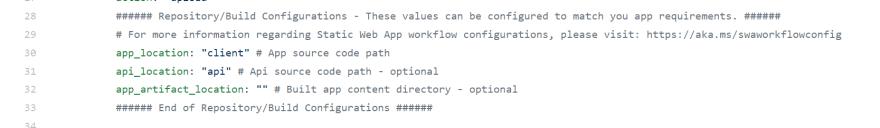 GitHub Actions Configuration
