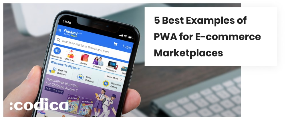 Cover image for 5 Best Examples of PWA for E-commerce Marketplaces