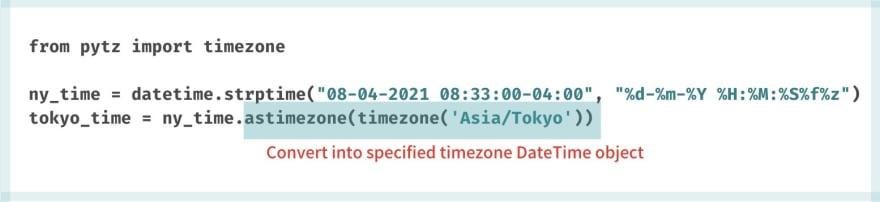 UTC String to different UTC DateTime object