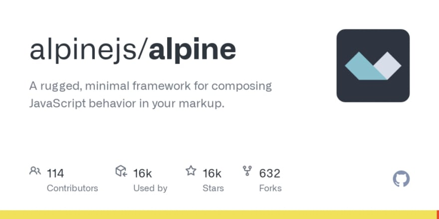 alpine js framework