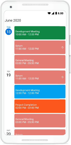 Customized Appointment Height in Schedule View