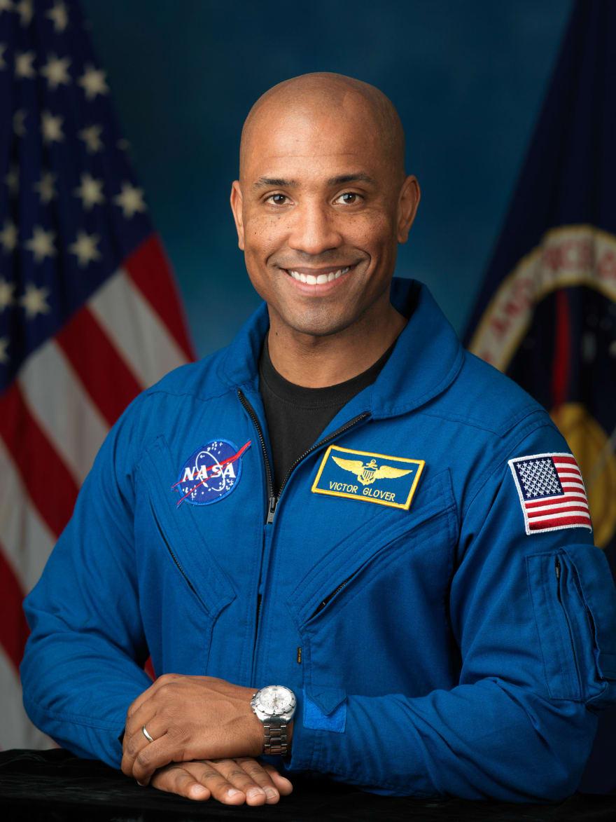 A portrait of Astronaut Victor J Glover