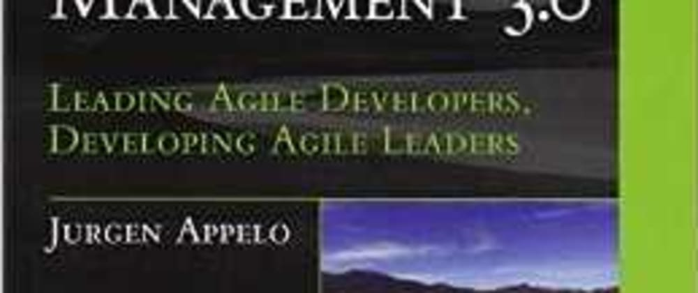 Cover image for Book Review: Management 3.0