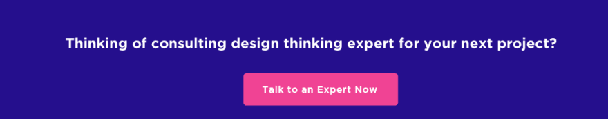 consulting design thinking expert