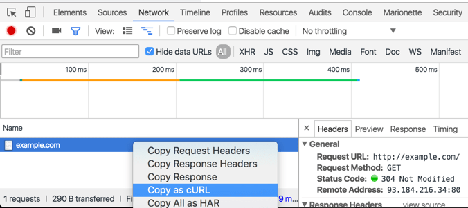 How I measure Response Times of Web APIs using curl - DEV Community