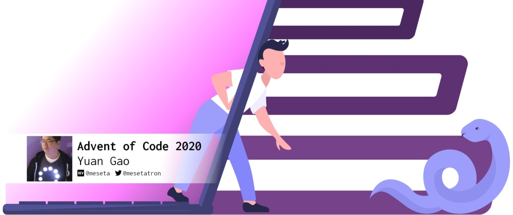 Cover image for Advent of Code 2020: Day 19 abusing PEG grammar in Python the way it's not supposed to