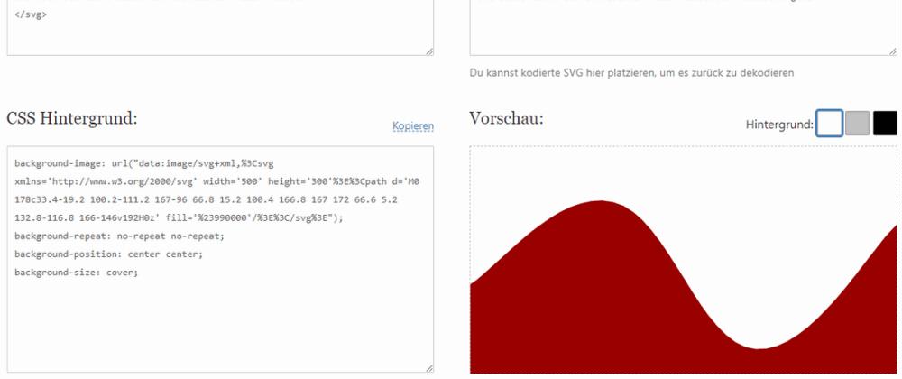 Cover image for SVG zu CSS konvertieren