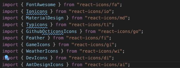 Icon Imports