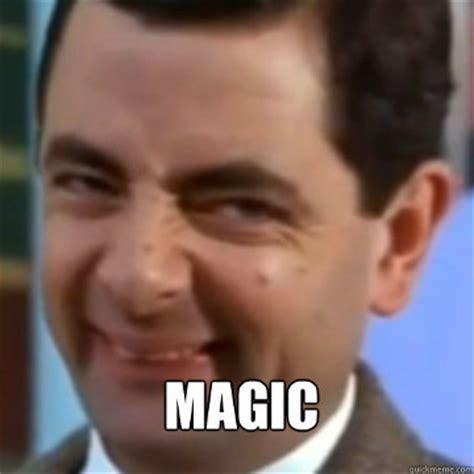 Mr. Bean magic
