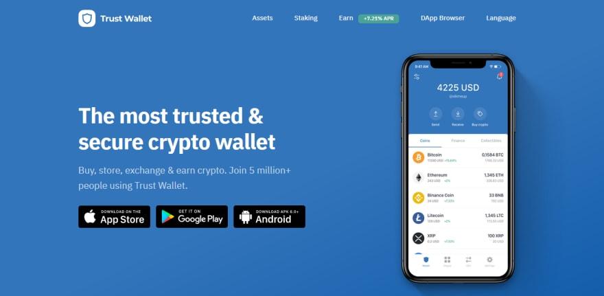 Trust Wallet - CoinGyan