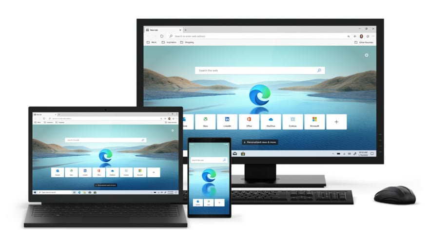 Edge Browser across Devices