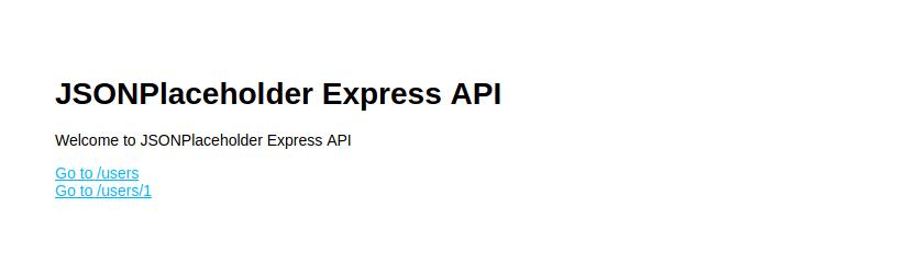 API Homepage