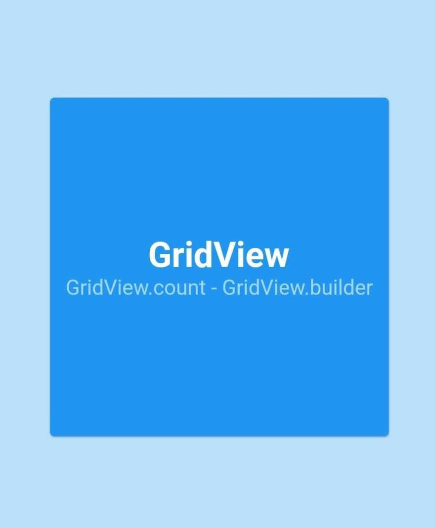 GridView Capa
