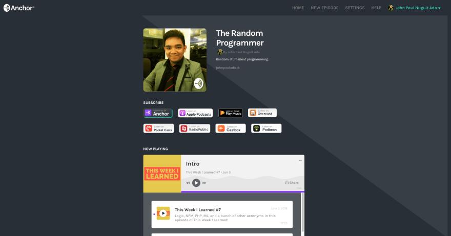 The Random Programmer