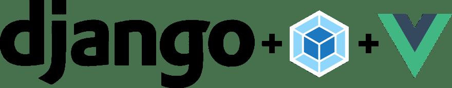 django webpack vue logos