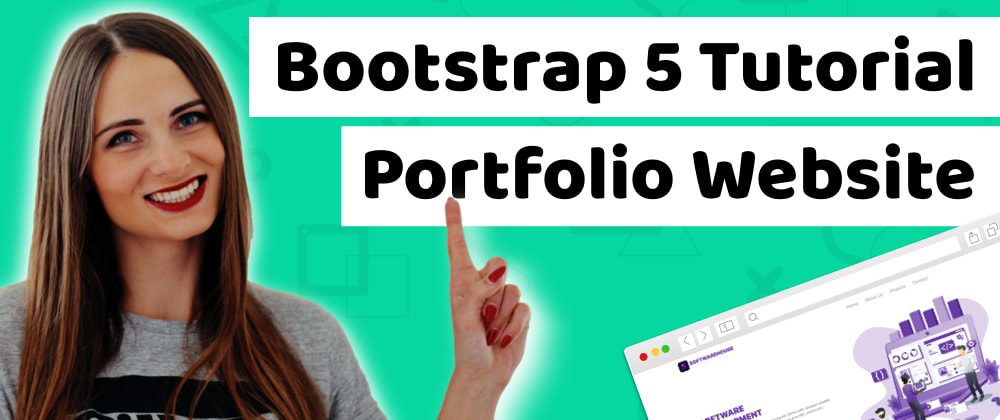 Cover image for Bootstrap 5 Tutorial: How to Create a Simple Web Page Using Bootstrap 5