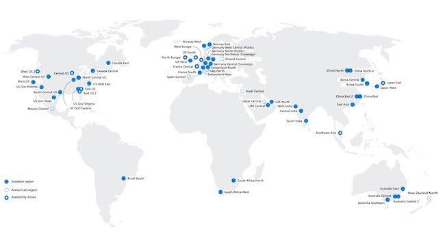Azure Map