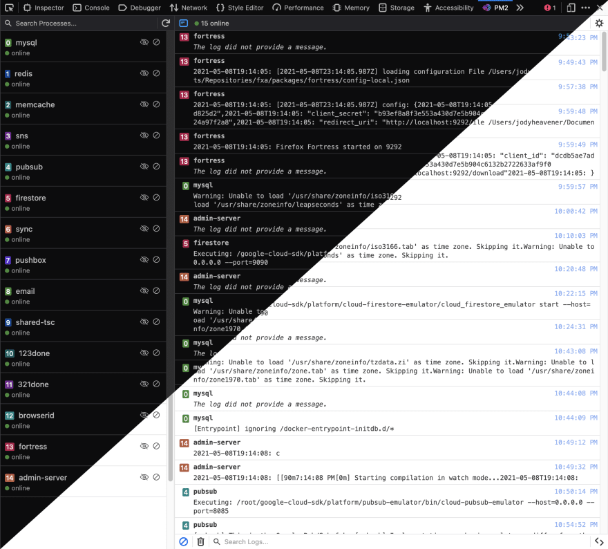 Extension preview displaying light and dark modes