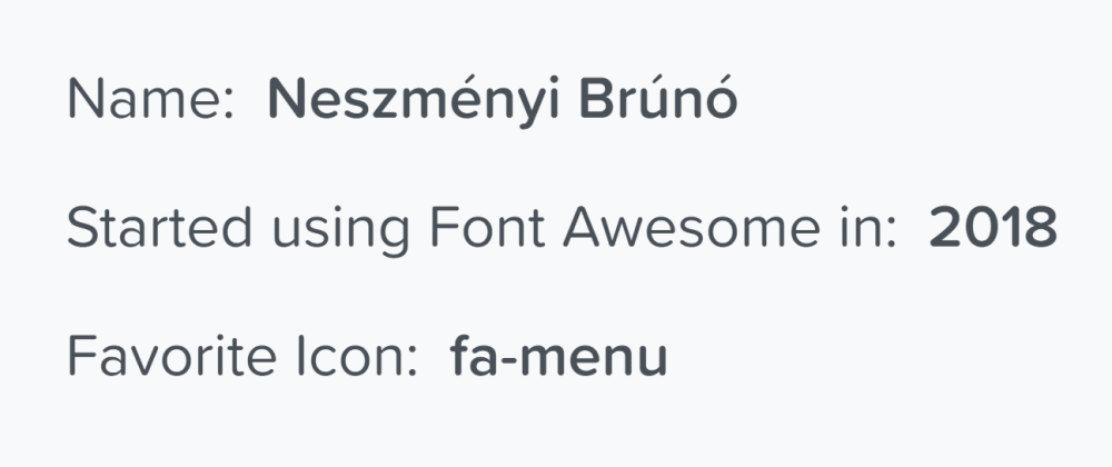 Cover image for What's your favorite font-awesome icon?