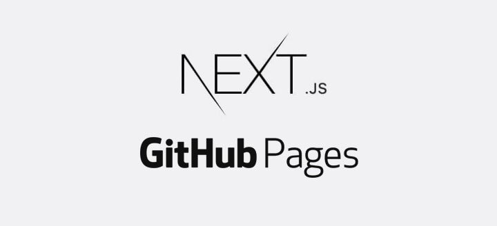 Next.js + Github Pages