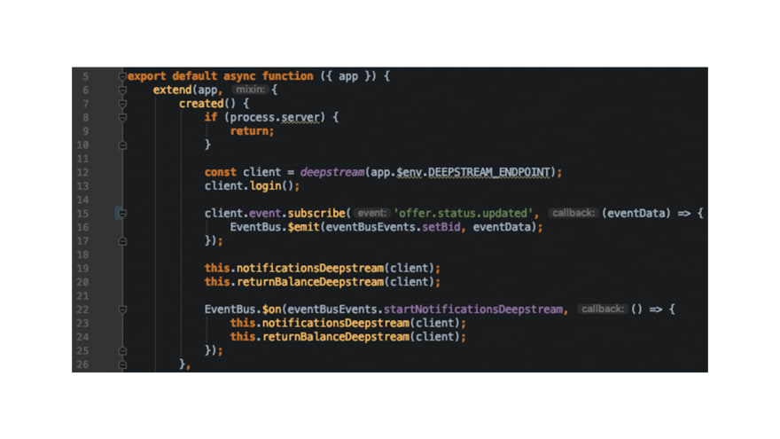 Image: Nuxt.js server/client handling