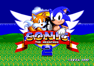 Sonic 2 Beta Titlescreen