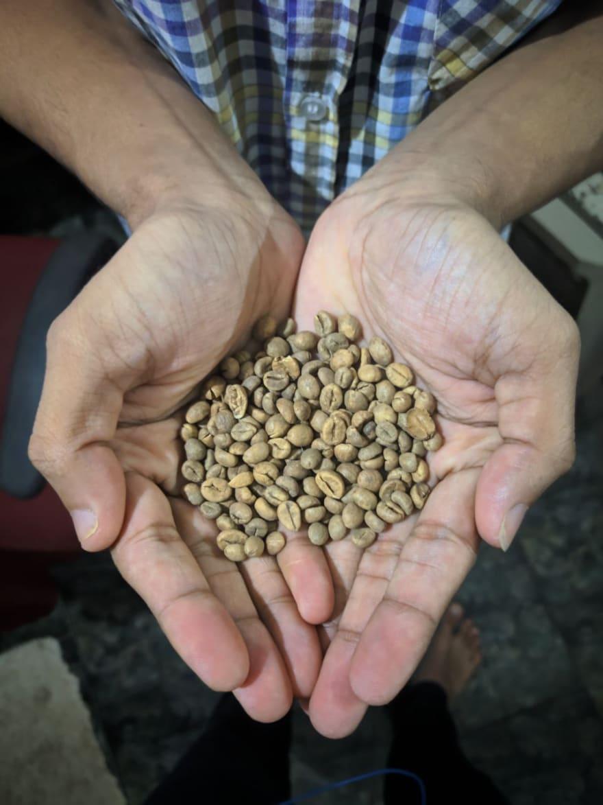 My coffee beans