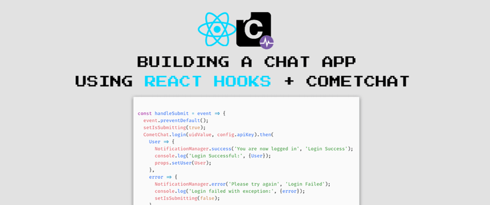 Cover image for Building a chat app with React Hooks, a pragmatic example