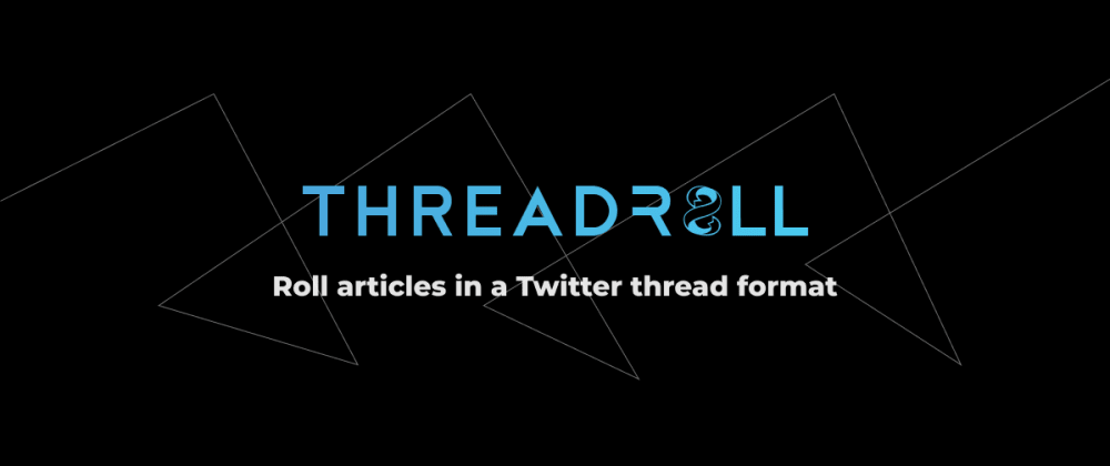 Cover image for I made a website that makes articles appear like a Twitter thread